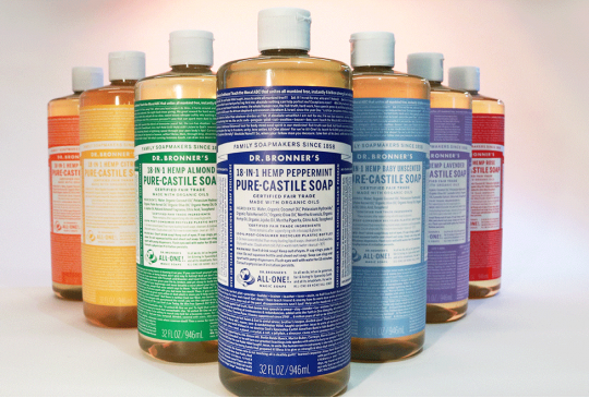 The unusual story behind Dr. Bronner's suds
