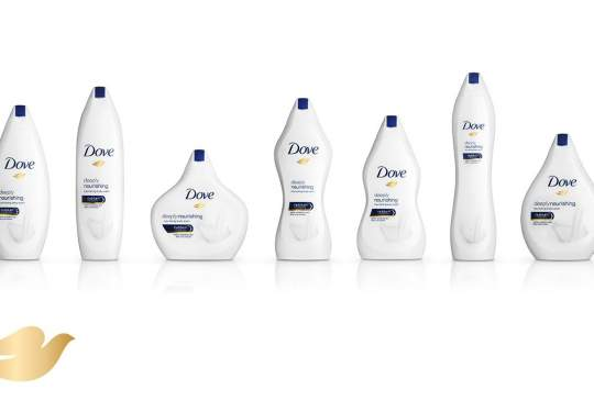 Beauty comes in all shapes and sizes dachten ze bij Dove