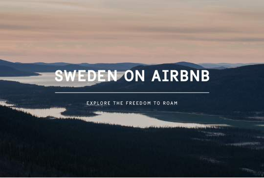 Zweden op Airbnb - Freedom to Roam
