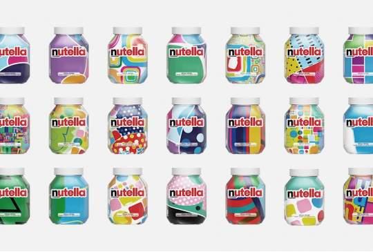 7 miljoen unieke Nutella verpakkingen
