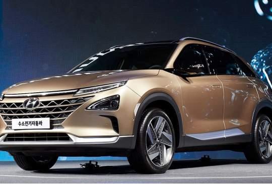 Hyundai's nieuwe waterstofauto