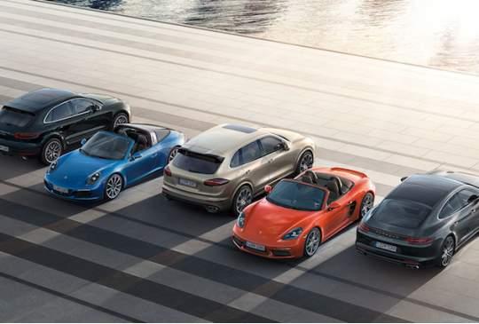 Porsche Passport - niet één auto maar gewoon alle modellen