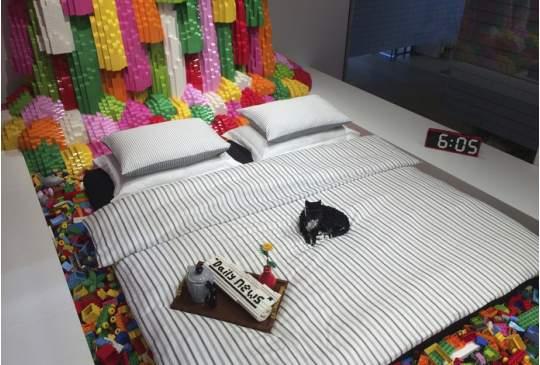 Nachtje slapen in het enige Lego-huis? Airbnb maakt het mogelijk
