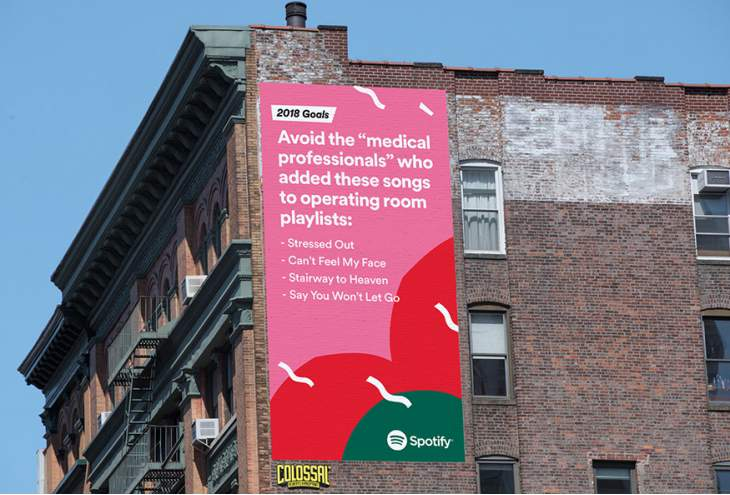 Spotify maakt global outdoor campagne in-house