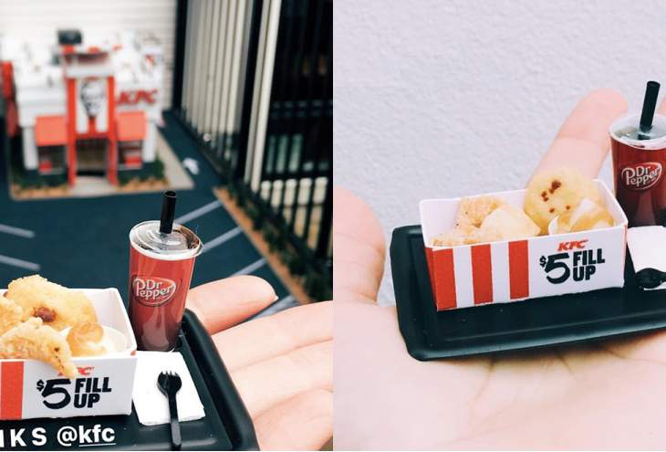 KFC mini pop-up shop